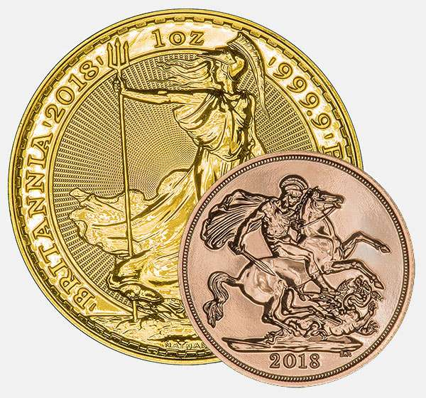 Buy Gold & Silver Bullion Coins & Bars | UK Coins | Chard