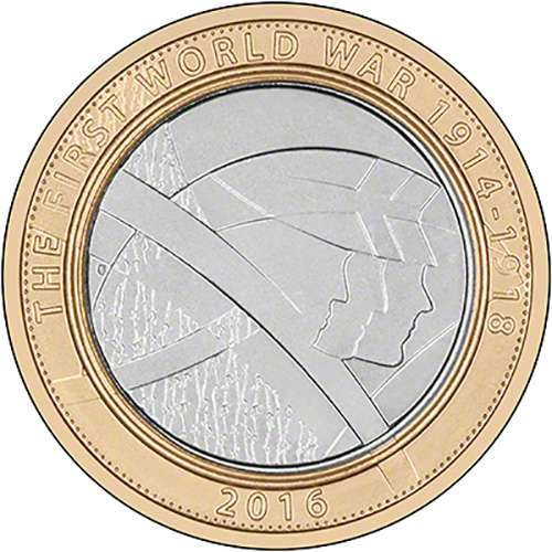 2016 Army, The Pals £2 Coin