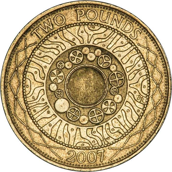 2007 Technology Two Pound Error Coin