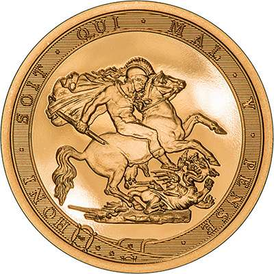 2017 200 Anniversary Strike on the Day Sovereign - Reverse