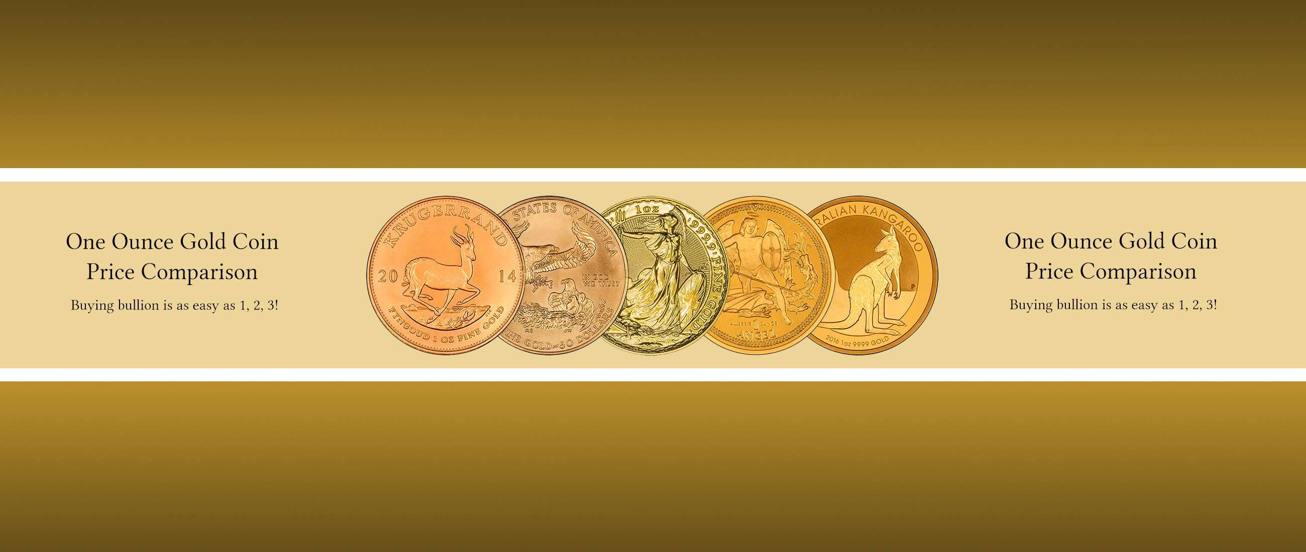 Which One Ounce Gold Coin - A Price Comparison 240