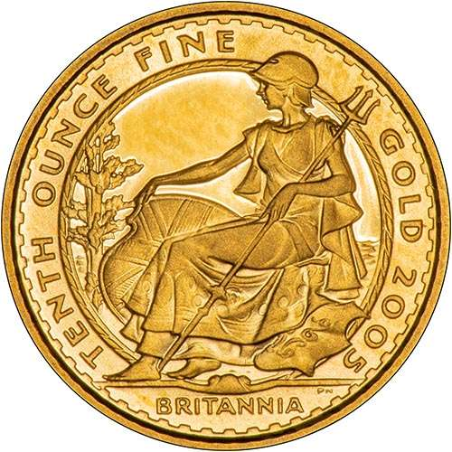 Gold Britannia Coin Information and Technical Specification 398