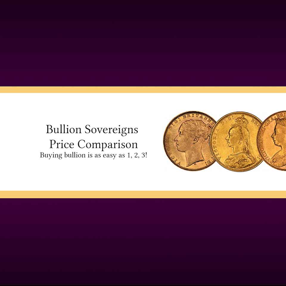 Bullion Sovereigns - Price Comparison 246