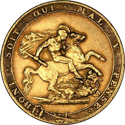 1817 George III Gold Sovereign - The First Modern Sovereign