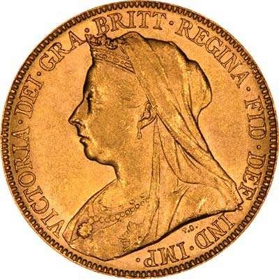 Victoria Old Head Sovereign
