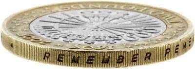 2005 400th Anniversary of the Gunpowder Plot Two Pound Coin