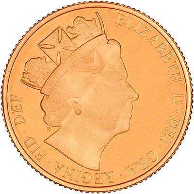 2016 Elizabeth II Gold Proof Sovereign
