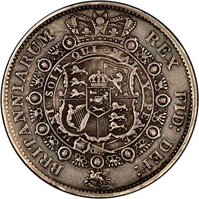 1817 George III Half Crown