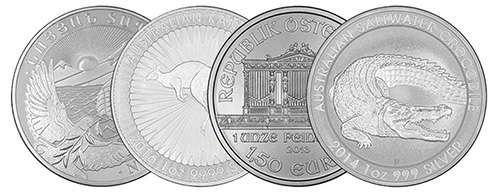 We buy silver bullion