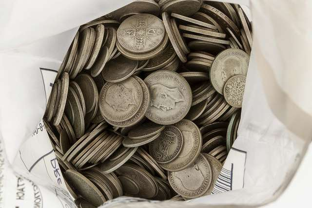 We buy Coins - everything from crowns to ha'pennies and everything in between
