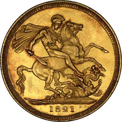 1821 George IV Gold Sovereign
