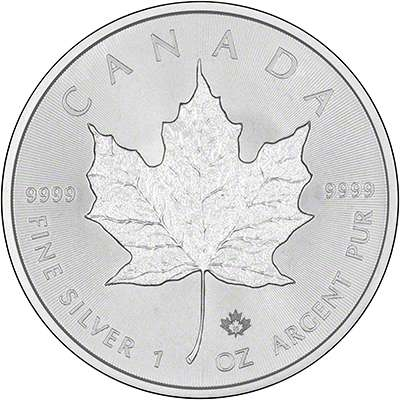 2015 Canada Silver Maple 1oz Coin with Authentication Privy Mark