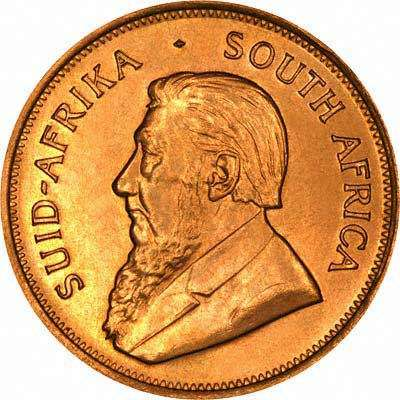 South Africa introduced the Krugerrand 1oz Gold Coin in 1967