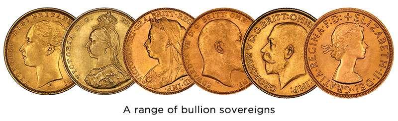 British Sovereigns - Gold Bullion Coins