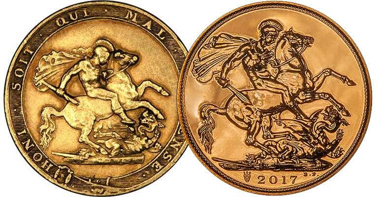 British Gold Sovereigns