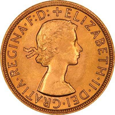 Elizabeth II First Definitive UK Coin Portrait