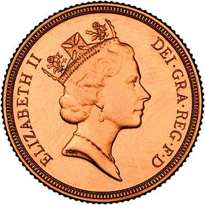 Elizabeth II Third Definitive UK Coin Portrait