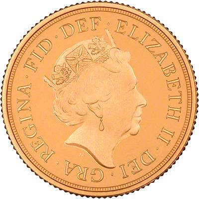 Elizabeth II Fifth Definitive UK Coin Portrait