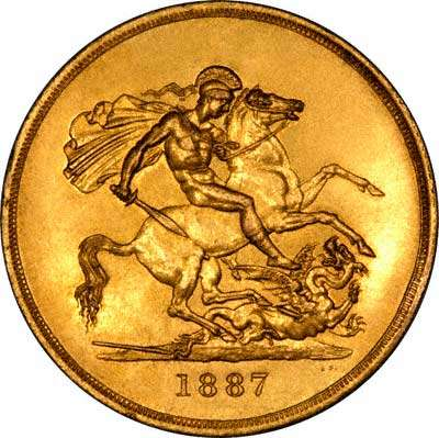 Fake 1887 Sovereign
