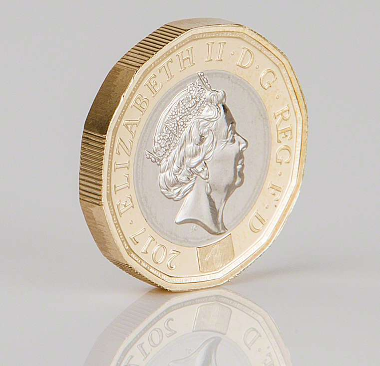 2017 12 Sided One Pound Coin