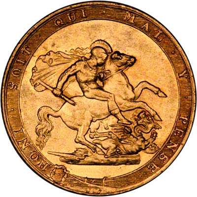 Benedetto's St George Design On The 1817 Sovereign