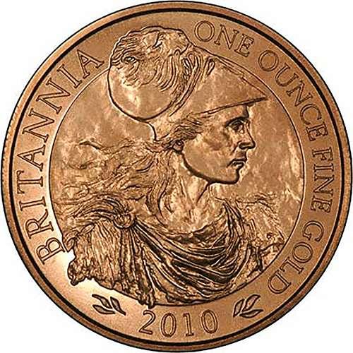 2010 Britannia 22 carat gold coin