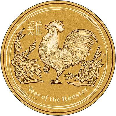 Australian Lunar 24 carat gold coins