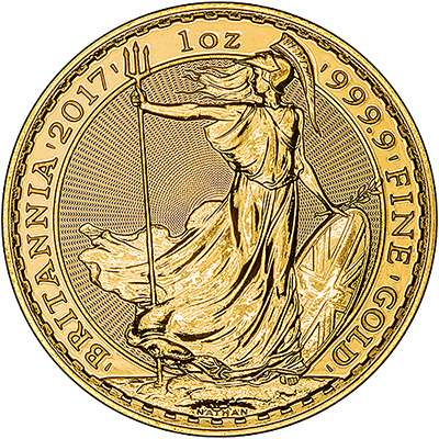 Britannia 2013 - Now 24 carat gold coin