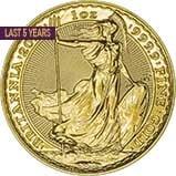 1 oz Gold Coin Britannia Bullion Best Value Newly Minted 21413