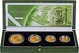 2003 4-Coin Gold Proof Sovereign Set Presentation Box