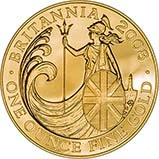 2008 1 oz Gold Coin Britannia Bullion 21601
