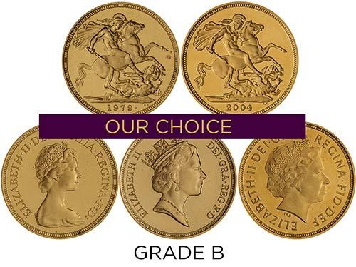 Gold Full Sovereign Grade C Proof 25170