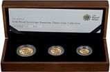 2010 Whole Coin Set Sovereign - 3 Coins Gold Proof Presentation Box
