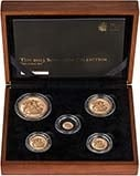 2013 Whole Coin Set Sovereign - 5 Coins Gold Proof Presentation Box