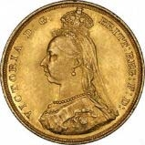 Gold Sovereign Victoria Jubilee Head Bullion 24499