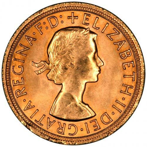 Gold Sovereign Elizabeth II Bullion 24203