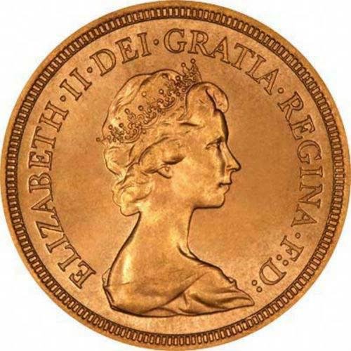 Gold Sovereign Elizabeth II Bullion 24201