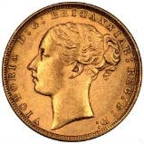 Gold Sovereign Victoria Young Head St George Bullion 20568