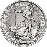 1 oz Silver Coin Britannia Our Choice Newly Minted Bullion 20929