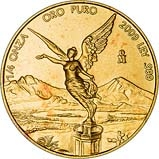 2009 0.25 oz Mexican Libertad Bullion Gold Coin Reverse