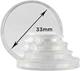 Storage & Accessories Coin Capsule 33mm 25086