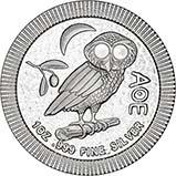 2017 1 oz Silver Coin Owl 23598