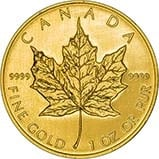 2007 1 oz Gold Coin Maple Bullion 23769