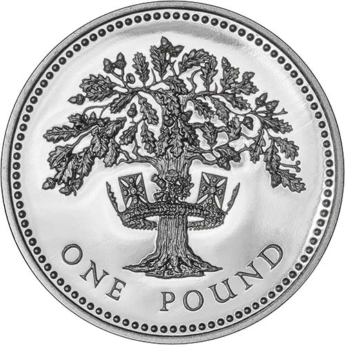 Buy A 1992 English Oak Tree 163 1 Silver Proof Chard