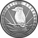 2009 1 Kg Silver Coin Kookaburra Perth Mint Bullion 21683