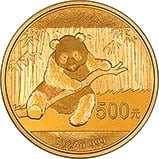2014 1 oz Gold Coin Panda Bullion 21270