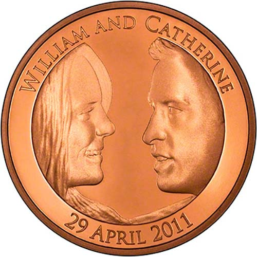 2011 Royal Wedding William And Kate 163 5 Gold Proof Chard