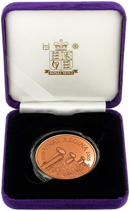 2006 Elizabeth Ii 80th Birthday 163 5 Gold Proof Chard
