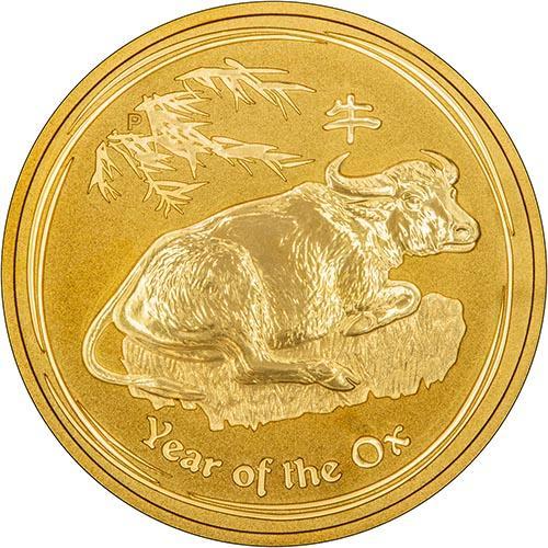 2009 Gold Year Of The Ox 1 Oz Bullion Coin Chard