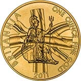 2011 1 oz Gold Coin Britannia Bullion 20752